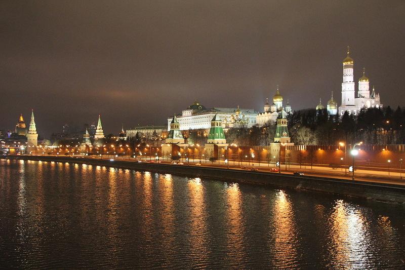 Вид с Москворецкого моста