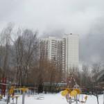 пожар Южный порт 4 марта 2012