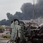 Пожар Южный порт 18.44