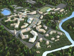 Генплан. Поселок +55 для пенсионеров Газпрома