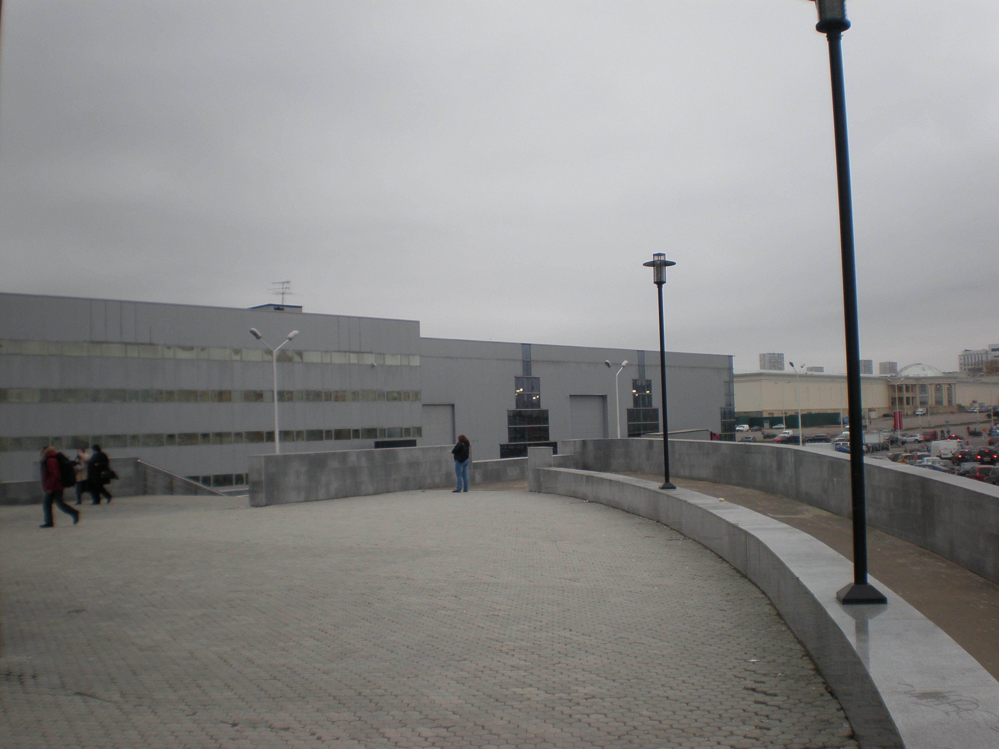 Выход из метро Мякинино. Далее пешком.